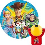 Projectables Disney 玩具总动员 4 LED 夜灯,插入,黄昏到黎明,适合儿童,巴斯光年,警长伍迪,博…