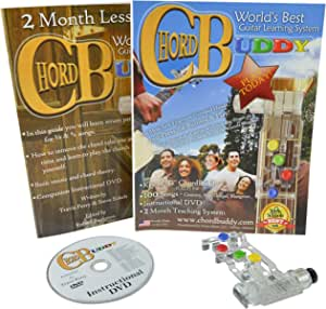 ChordBuddy 右手吉他学习系统。 包括 ChordBuddy,2 个月的课程计划 DVD 和歌曲书