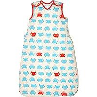 英国 Grobag SimplyGro(升级版) 婴儿睡袋 红蓝汽车 2.5托格 (0-6个月) AAE4282