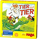Haba 4478 动物叠叠乐 适于2-4位4岁以上儿童 带有动物木偶 可单人游玩