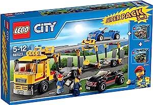 LEGO 乐高 66523 城市*套装 3 合 1 包括 60060、60053 和 60055