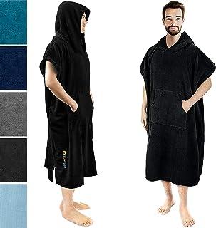 SUN CUBE 带兜帽冲浪斗篷睡袍 | 速干超细纤维涤纶换尿布毛巾