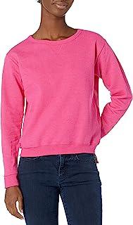 Hanes 女士 V 形缺口套头羊毛运动衫