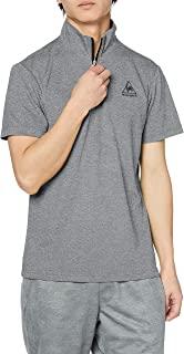 le coq sportif T恤 半拉链短袖衬衫 男士