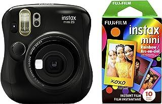 Fujifilm 富士 拍立得 Mini 26 +彩虹胶片套装 - 黑色