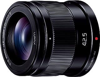 Panasonic 松下电器 定焦 中远摄镜头 微型4/3用 LUMIX G 42.5mm/ F1.7 ASPH. / POWER O.I.S. 黑色 H-HS043-K