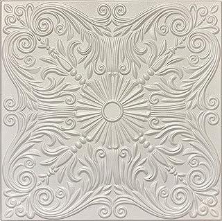 Victorian R39W 泡沫胶水 20x20 装饰天花板瓷砖(21.12 s/f)8 件装