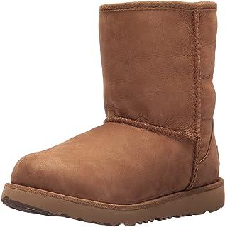 UGG 儿童 K Classic Short II WP 套穿靴