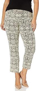 SLIM-SATION 女式加大码套穿印花及踝裤