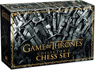 USAopoly 权力的游戏收藏版国际象棋套装,CH104-375-001800-03