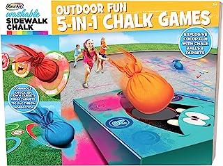 RoseArt Sidewalk 粉笔涂料 5 合 1 粉笔游戏