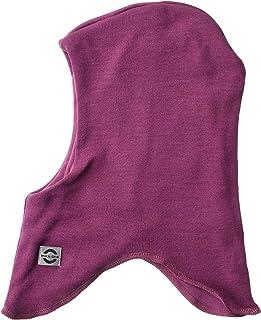MIKK-Line - 麦尔登羊毛*巴拉克拉法帽/面革采用防风技术 7-8Y 紫色 9100-537-122/128-537-7-8Y