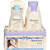 Aveeno 艾维诺 婴儿日常洗浴用品礼品套装,滋养婴儿和妈妈,4 件套