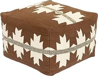 Artistic Weavers Chantrelle 乡村风格小袋子,高 x 宽 22 x 深 14 英寸(约 55.9 x 55.9 厘米),棕色,高 x 宽