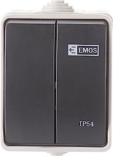 Emos a1398.1 墙壁开关 c.5 IP54
