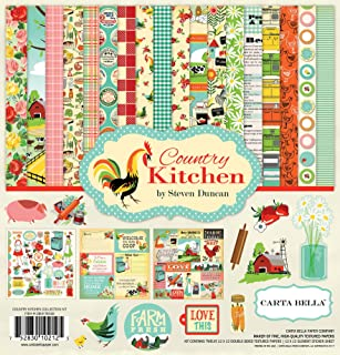 """Carta Bella Collection Kit 12""""X12""""-Country Kitchen"""