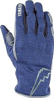 Yamaha 雅马哈 骑行手套 KUSHITANI *款 YAG58-K 雷文冬季手套 蓝色 L码 Q5F-KST-Y06-01L