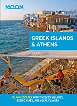 Moon Greek Islands & Athens: Island Escapes with Timeless Villages, Scenic Hikes, and Local Flavors (Travel Guide) (Englis...