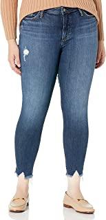 Silver Jeans Co. 女士加大码*想要中腰修身牛仔裤