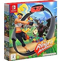 Nintendo 任天堂 Ring Fit Adventure 健身环大冒险 健身游戏(用于Nintendo Switc…