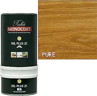 Rubio Monocoat 木染色油加 2C Pure Eco2(透明) 350 ml 2CPURE/350ML