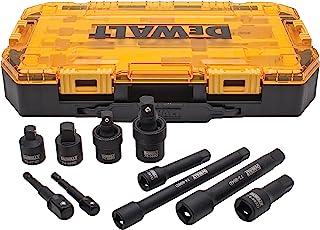 DEWALT Tough Box 10 PC 0.95 厘米和 1/2 驱动冲击盘套装