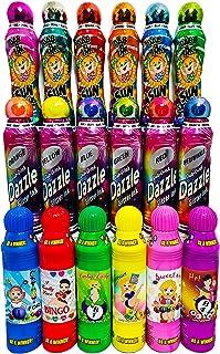 Dab-O-Ink 3 盎司。 18 件装闪耀闪光/太阳/幸运女士宾果糖散装组合礼品套装!