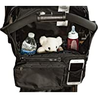 Best Stroller Organizer for Moms! Fits all Strollers, Zip of…
