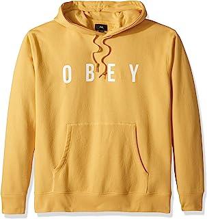 Obey 男式 Anyway 连帽运动衫套头衫