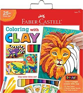 Faber-Castell 辉柏嘉 Do 艺术涂色粘土 - 儿童模型粘土艺术