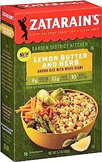 Zatarain's Lemon Butter Herb with White Beans, 5.7 Ounce (Pack of 8)