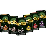Jacobs 咖啡胶囊 Nespresso®* 兼容胶囊 6种不同口味,可制备6 x 10杯饮品/入门装