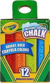 Crayola 12 支装侧行走粉笔... 1 1包 多种颜色