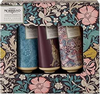 Morris & Co. 金银花&粉红石泥护手霜,礼品盒系列,旅行装(3 x 30ml)