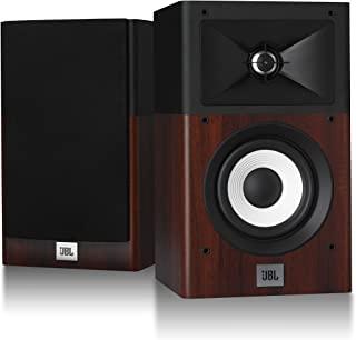 JBL STAGE A120 两用 书架型音箱 背面低音 木制/黑色 JBLA120W