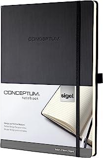 Sigel CONCEPTUM 精装笔记本 A4+ / liniert A4+ 黑色