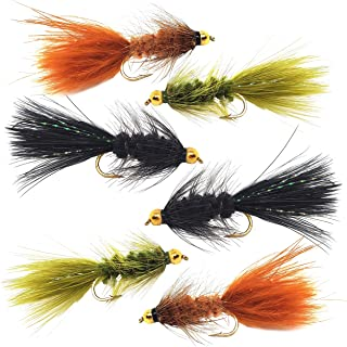 Woolly Bugger Trout Fly Fishing Streamer 花束