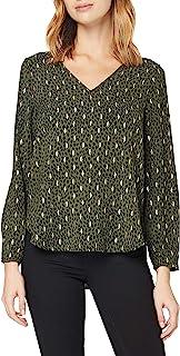 ONLY 女士 Onlvic L/S 细节 V 领上衣 WVN 衬衫