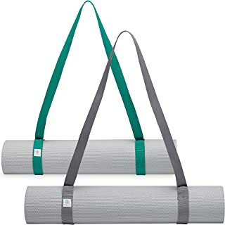 Gaiam 易收紧瑜伽垫吊带,1 件
