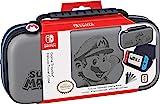 RDS Industries 官方*任天堂交換機*馬里奧 - 豪華豪華保護殼 - Deboss Grey - Nintendo Switch