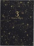 ARTEMIS 日记本 3年连用 星座 黑色
