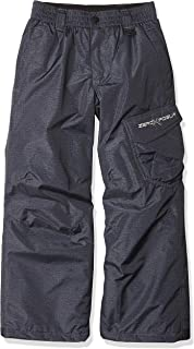 ZeroXposur 男孩白金雪裤 - 滑雪单板防水裤