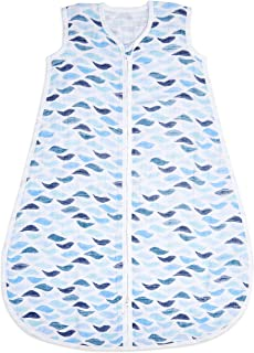 aden + anais 睡袋 1.0TOG(6-18 个月)* 棉布 - 钓鱼 - 波浪