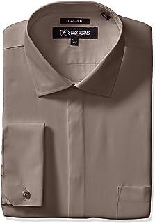STACY ADAMS 男士 39000 纯色正装衬衫