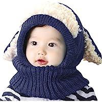 女婴男孩冬季帽围巾耳罩围巾头巾头巾