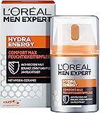 L'Oréal Paris 巴黎欧莱雅 男士专家 Hydra Energy 劲能极润保湿面霜 保湿不油腻 适合干燥敏感的…