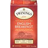 Twinings 川宁 伦敦英式早餐茶,20袋(6包),1.41盎司,40克
