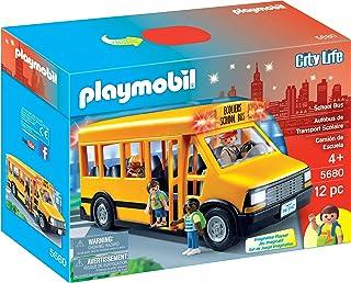 PLAYMOBIL 摩比世界 校车玩具