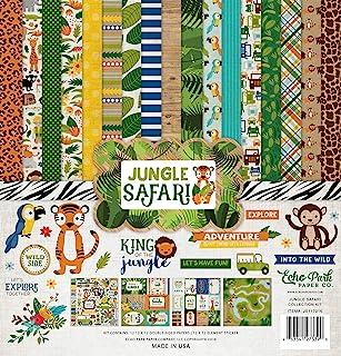 Echo Park Paper Company JS117016 丛林野生动物系列套件