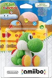 amiibo (Nintendo Wii U/3DS) Yarn Yoshi Green 绿色